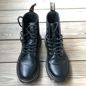 Dr. Martens Leather Luana Boots. Size 6/ EU 37